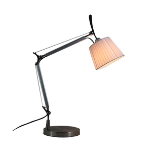 Artemide Tolomeo Mage Table Lamp (Crease Fabric)