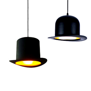 Jeeves and Wooster Pendant Lamp