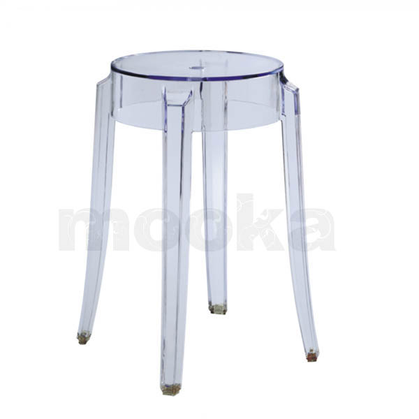 Kartell charles ghost stool small
