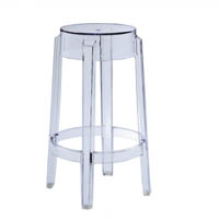 Kartell charles ghost stool medium