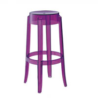 Kartell charles ghost stool high