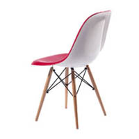 EAMES DSW DINING CHAIR DOUBLE COLOR