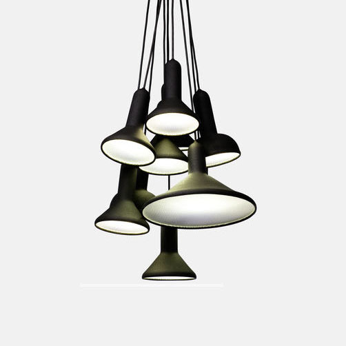 Torch Bunch Pendant Lamp (10 Shade)