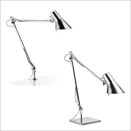Kelcin Adjustable Head Table Lamp  (2 ARM)