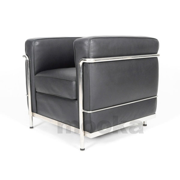 le corbusier lc2 sofa armchair mooka modern furniture. Black Bedroom Furniture Sets. Home Design Ideas