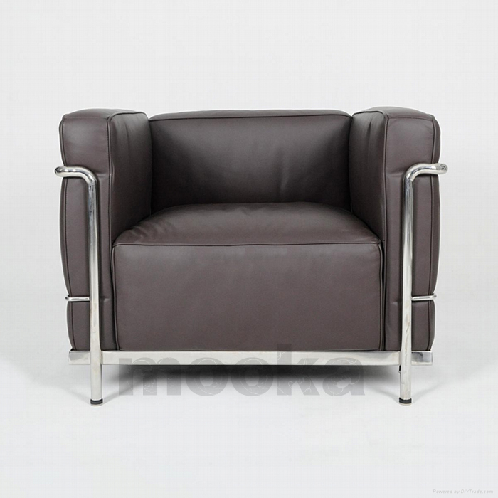 Le Corbusier LC3 Sofa armchair -MOOKA MODERN FURNITURE