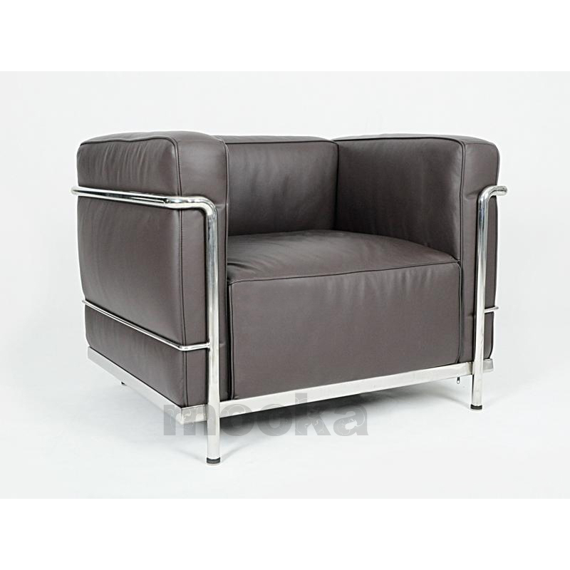le corbusier lc3 sofa armchair mooka modern furniture. Black Bedroom Furniture Sets. Home Design Ideas