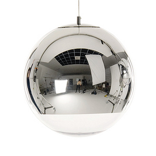 Tom Dixon Mirror Pendant Lamp (Single)