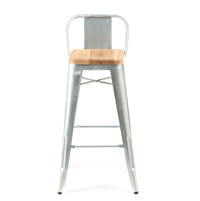 Tolix Wide Back Barstool
