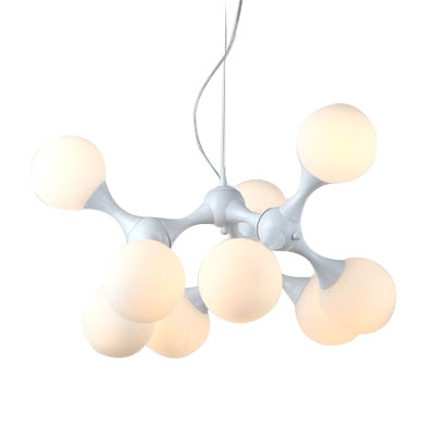 Big DNA Glass Ball Pendant Lamp