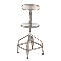 Industrial Architect's Barstool
