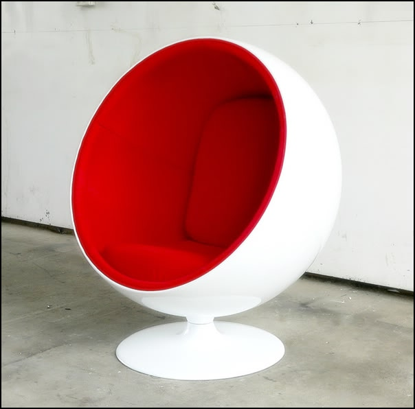 Ball chair by eero aarnio mooka modern furniture - Ball chair by eero aarnio ...