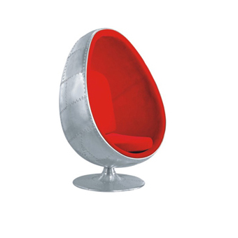 Aluminum Egg chair