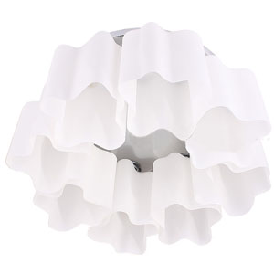 Artemide Logico Quadruple Nest ceniling Lamp  (8 Glass Chimney)