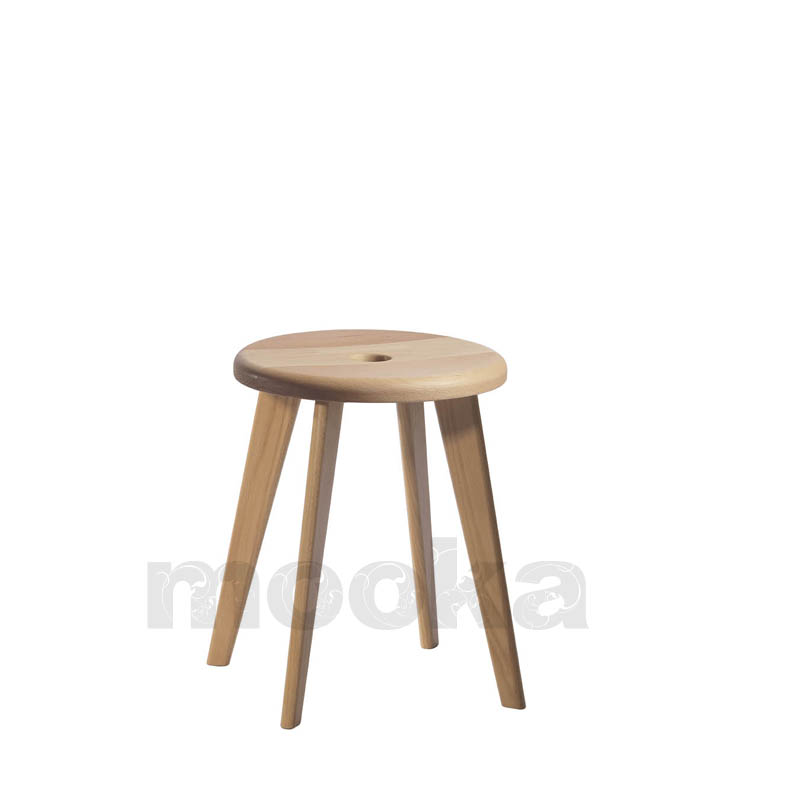 Solid beech wood Bar stool small