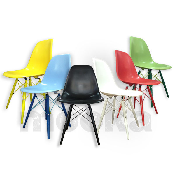 EAMES DSW CHAIR COLORFUL LEGS